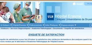 Enquêtes de satisfaction hôpitaux accessibles via le Web