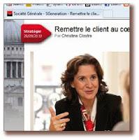 Societe Generale : Mettre le client au cœur des préoccupations