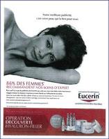 Pub & Recommandation chez Eucerin
