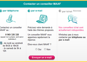 Augmentation de la note Satisfaction Client du site MAAF grâce à un Chat