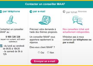 Augmentation de la note Satisfaction Client du site MAAF grâce à un Chat