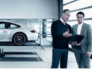Service maximum chez Porsche