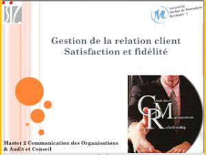 Des résultats de l'enquête de satisfaction aux actions opérationnelles