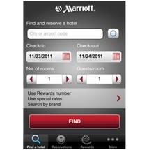 Marriott : Service client sur Mobile