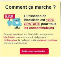 Lancement d'un nouveau site d'avis consommateurs : blacklistic.fr