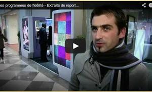 Cartes de fidélité clients – Reportage Tv