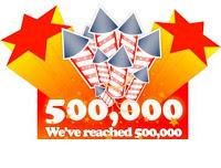 500 000 visiteurs du blog (Satisfaits ?)