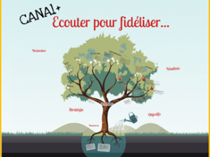 Mesure de la Satisfaction clients digitale chez Canal+