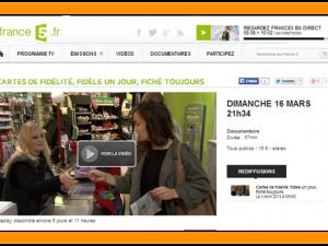 Cartes de Fidélité « Fidèle un jour – Fiché toujours » sur France5