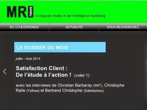 Satisfaction clients : de l'étude à l'action (volet 1)