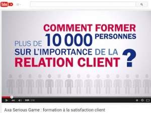 Comment AXA forme plus de 10 000 collaborateurs sur l'importance de la relation client ?