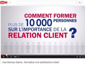 Comment AXA forme plus de 10 000 collaborateurs sur l'importance de la relation client ?