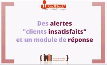 Custrack outils de mesure des clients insatisfaits