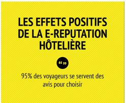 infographie accor et les 8 effets positifs des avis clients. Black Bedroom Furniture Sets. Home Design Ideas
