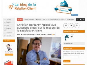 Les questions d'easiware sur la mesure de la satisfaction client
