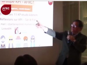 Conférence AFRC « les KPI Marketing en Relation Clients »